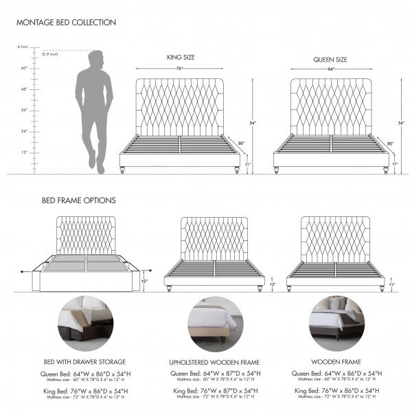 CLANTON BED COLLECTION 3