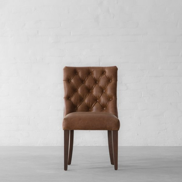 MIAMI SPRINGS LEATHER DINING CHAIR 3
