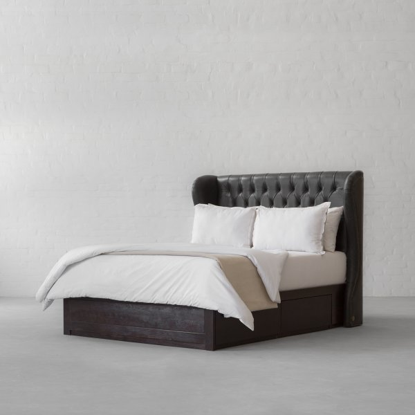 OMAN TUFTED LEATHER BED COLLECTION 3