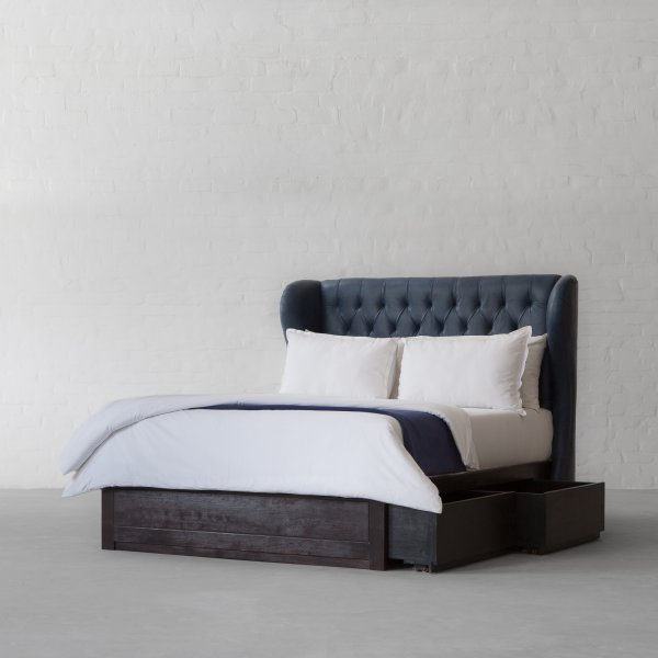 OMAN TUFTED LEATHER BED COLLECTION 4