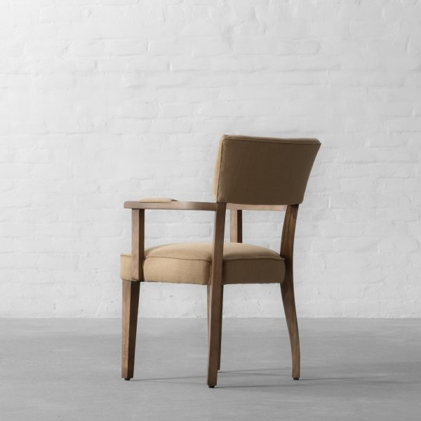 MILTON DINING CHAIR - WITH ARMS 5
