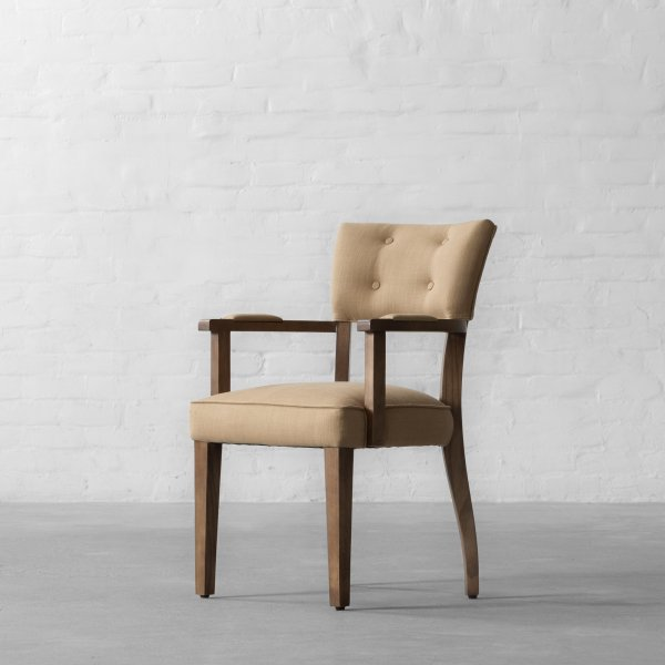 MILTON DINING CHAIR - WITH ARMS 3