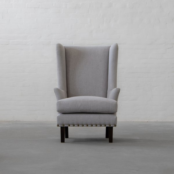 ANDERSON FABRIC WINGBACK CHAIR 1