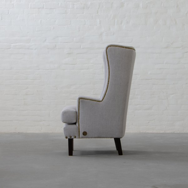 ANDERSON FABRIC WINGBACK CHAIR 5
