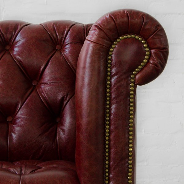 PORTSMOUTH CHESTERFIELD LEATHER SOFA COLLECTION 3