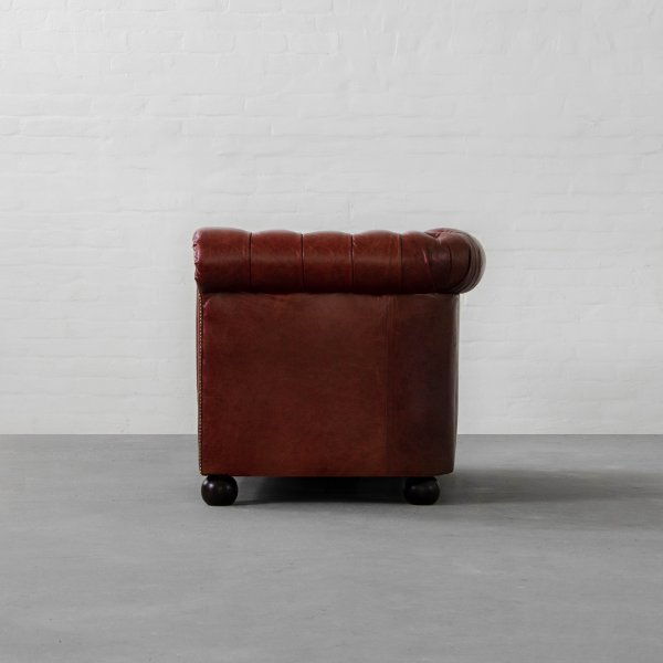 PORTSMOUTH CHESTERFIELD LEATHER SOFA COLLECTION 5
