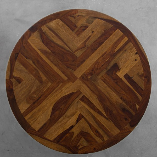 NORTH BONNEVILLE ROUND DINING TABLE 4