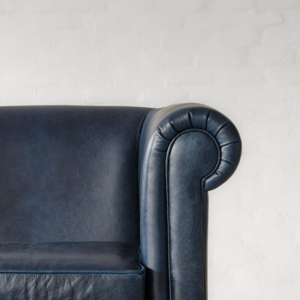 INDIANA CHESTERFIELD LEATHER SOFA COLLECTION 2