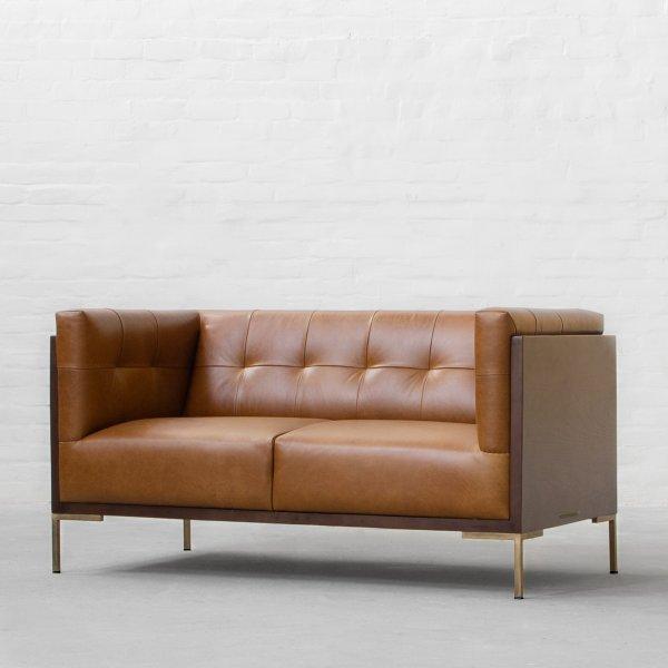 New York Leather Sofa Collection Furniture Jepara Modern