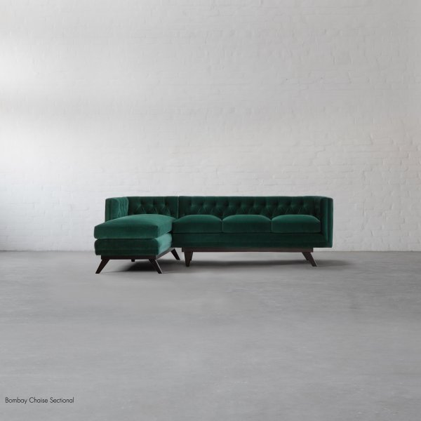 HOLLYWOOD L SHAPE LARGE CHAISE SECTIONAL 1