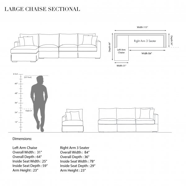 LARGE-CHAISE SECTIONAL-CALIFORNIA 5