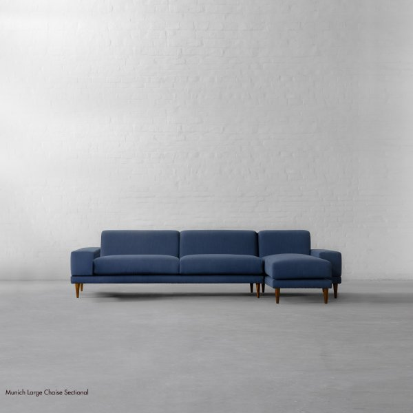 LARGE CHAISE SECTIONAL - MUNICH 1